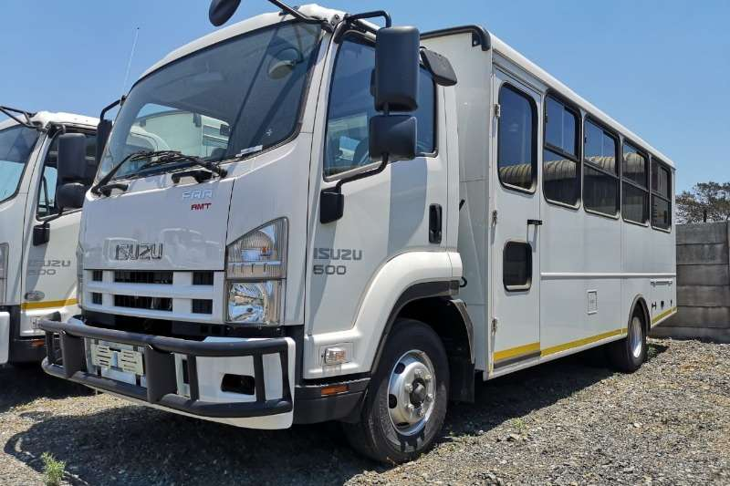 Isuzu Buses 23 seater FRR 600 AMT Bus Demo 2020