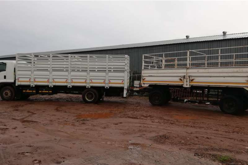 Isuzu 2019 ISUZU FTR 850 CATTLE BODY, EXCELLENT CONDITIO Cattle body trucks