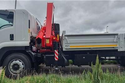 Isuzu 2020 FTR 850 Crane Truck with 6.3m Dropside Body Crane trucks