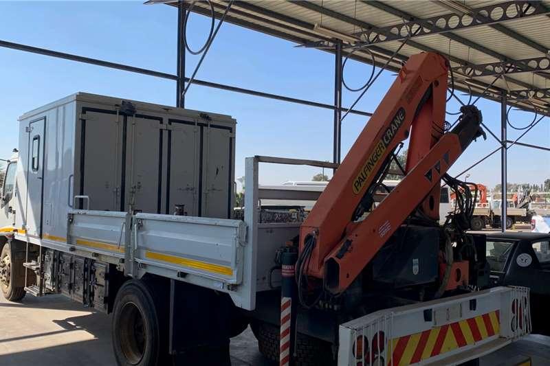 Isuzu FTR 800 F/C D/S Palfinger Pk8500 Crane Crane trucks