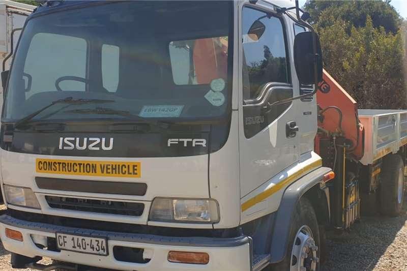 Isuzu FTR800 Crane trucks