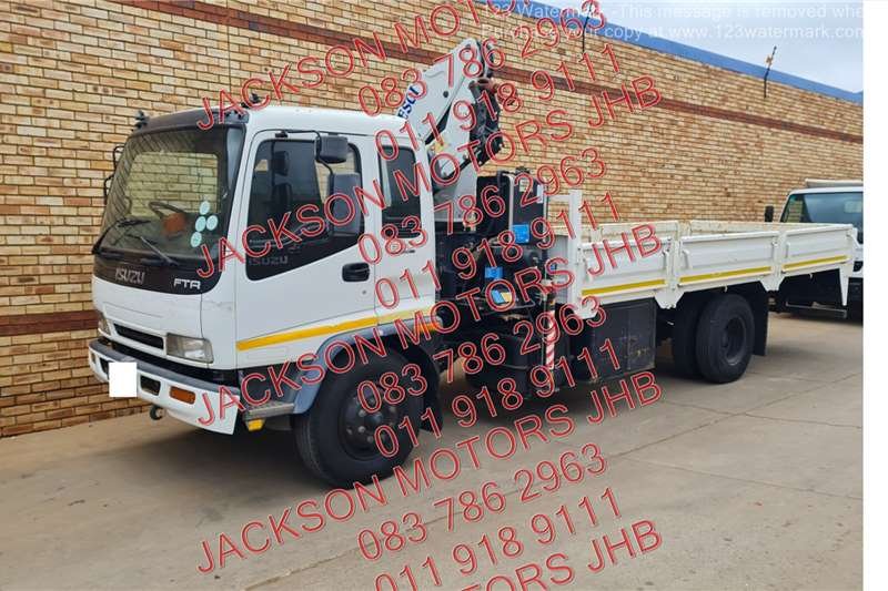 Isuzu FTR800 WITH DROPSDIE AND PESCI SE175A/1 CRANE Crane trucks
