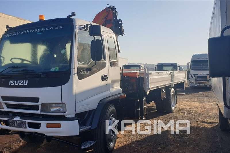 Isuzu Crane trucks FTR800 with Palfinger PK12 000 Crane 2009