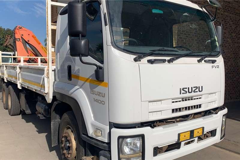 Isuzu FVZ1400 F/C D/S Palfinger PK18500 Crane Crane trucks
