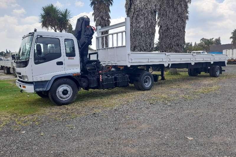 Isuzu ISUZU FTR 800 CRANE TRUCK WITH TRAILER FOR SALE Crane trucks