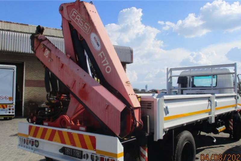 Isuzu ISUZU FTR800 DROPSIDE WITH REAR F170 CRANE Crane trucks