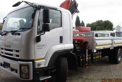 Isuzu ISUZU FTR850 DROPSIDE WITH PK15000 CRANE Crane trucks
