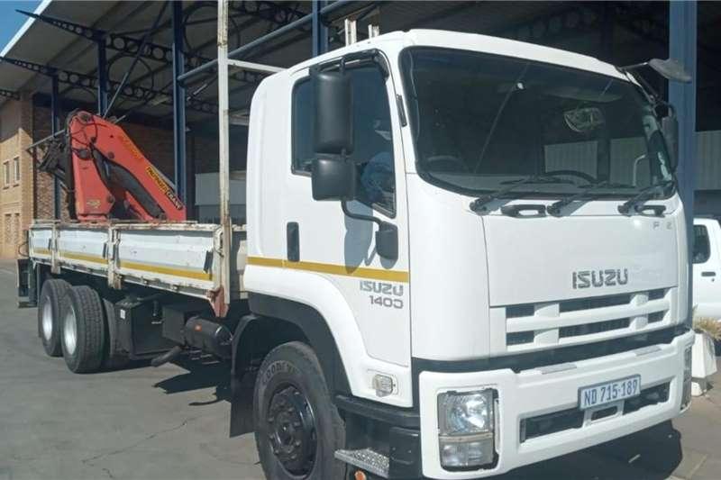 Isuzu ISUZU FVZ1400 DROPSIDE WITH PK23500 REAR CRANE Crane trucks