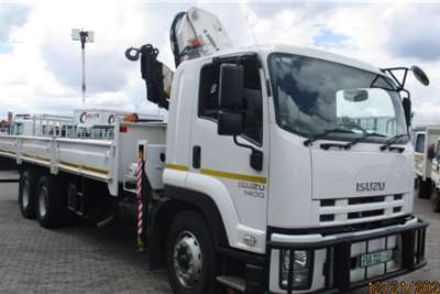 Isuzu ISUZU FVZ1400 WITH BONFIG 20 TON Crane trucks