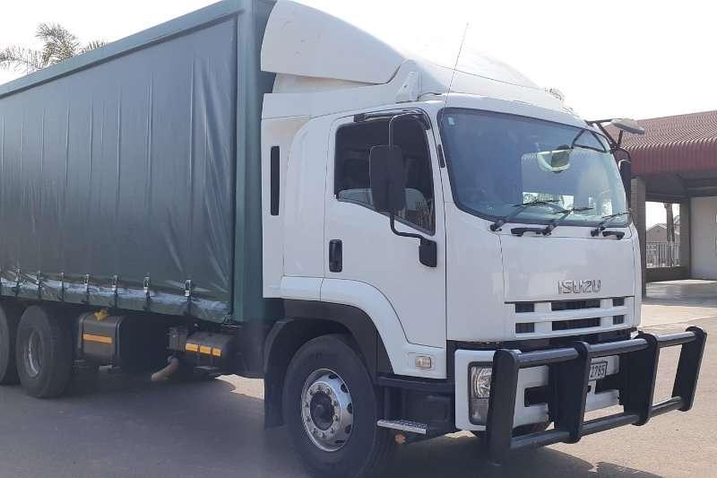 Isuzu 2011 ISUZU FVZ1400 TAUTLINER Curtain side trucks