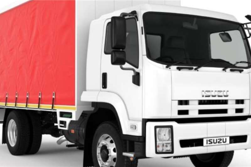 Isuzu Curtain side trucks Isuzu FTR 850 AMT Tautliner truck 2020