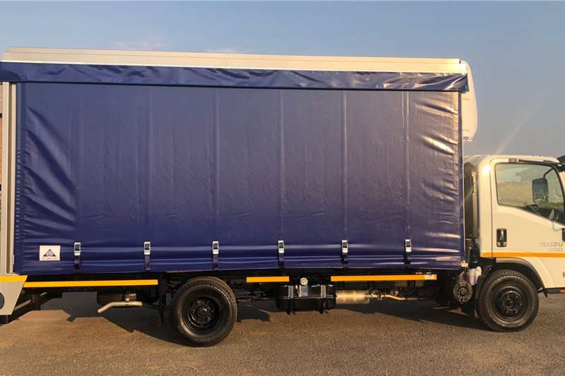Isuzu Curtain Side Trucks NPR 300 2020