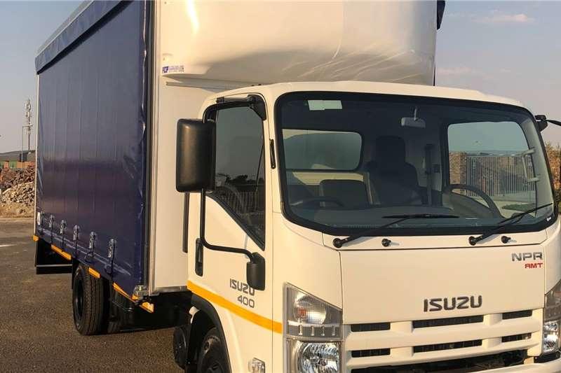 Isuzu Curtain Side Trucks NPR 400 2020