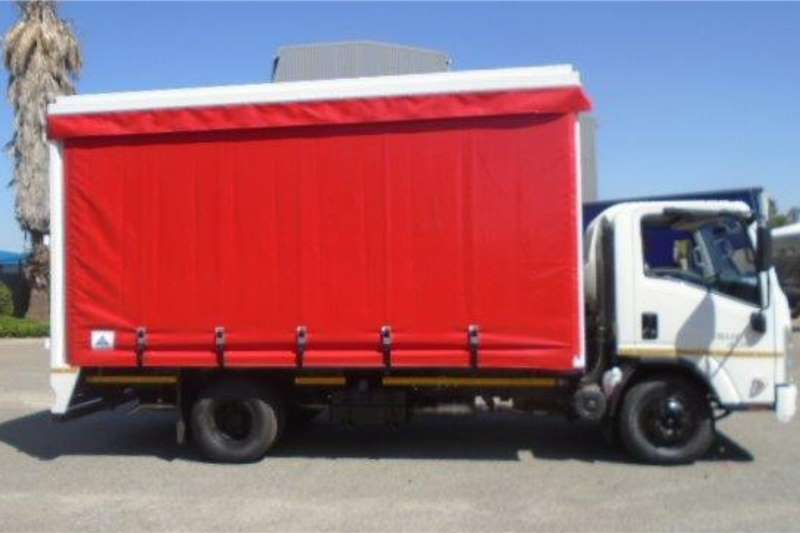 Isuzu Curtain side trucks NPR 400 AMT 2020