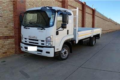 Isuzu FRR550 (MANUAL),6 TON WITH DROPSDIE BODY Dropside trucks