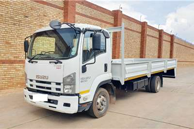 Isuzu FRR550 (MANUAL) FITTED WITH DROPSDIE BODY Dropside trucks