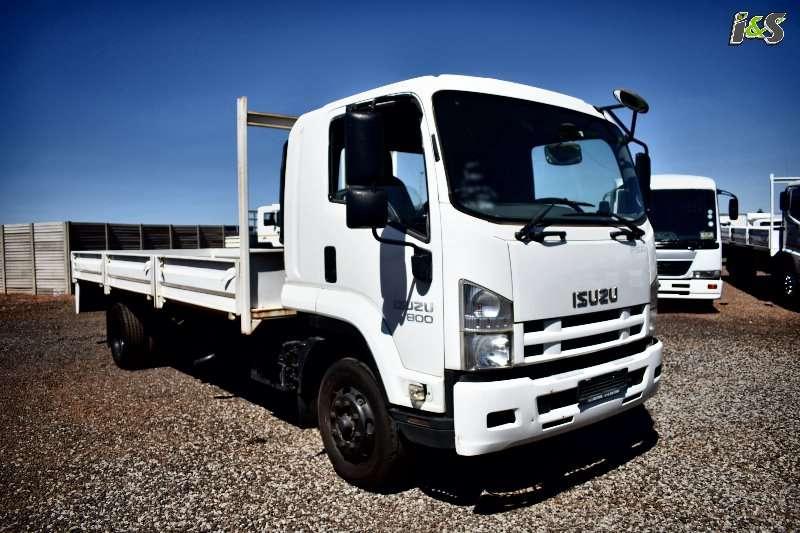Isuzu Dropside trucks FSR 800 2011