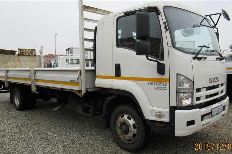 Isuzu Dropside trucks FSR 800 tail lift 2014