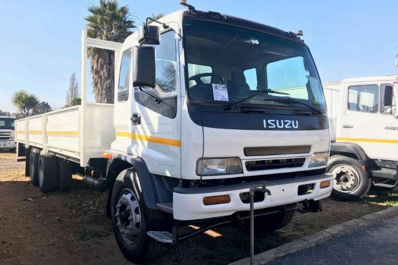 Isuzu Dropside trucks FTM1200 Tag Axle Dropside 2009