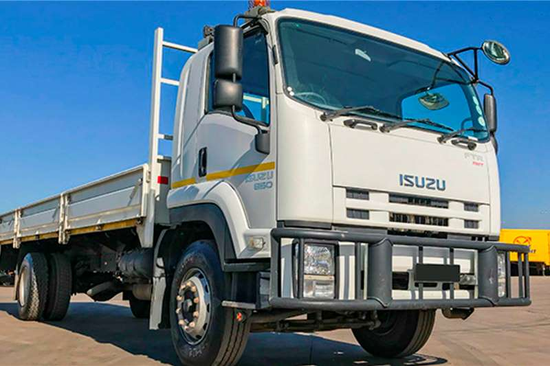 Isuzu FTR 850 AMT 8 Ton Dropside   Low Mileage Dropside trucks