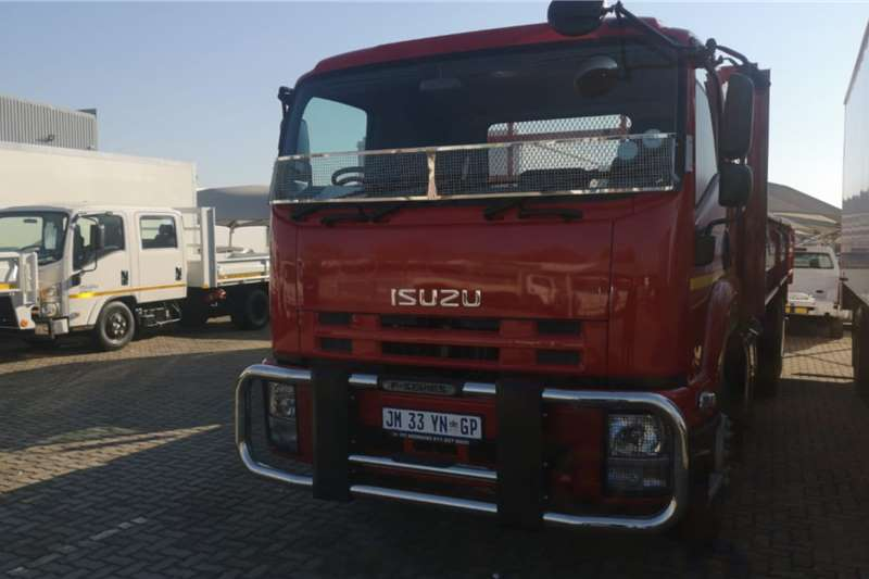 Isuzu Dropside trucks FVZ 1400 Manual Demo 2020