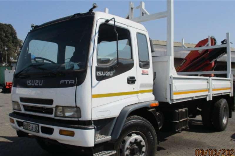 Isuzu ISUZU FTR 800 DROPSIDE WITH PK15500 Dropside trucks