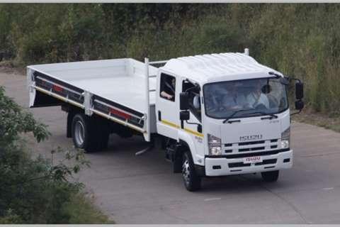 Isuzu Dropside trucks NEW FSR 750 Crew Cab AMT 2020