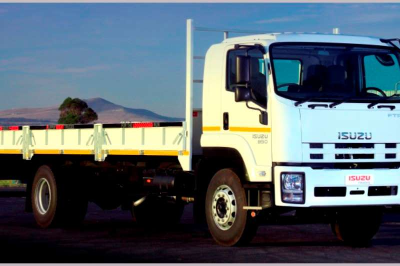 Isuzu Dropside trucks NEW FTR 850 Manual with drop side body and tow kit 2020