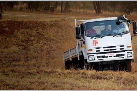 Isuzu Dropside trucks NEW FTS 750 4x4 2020
