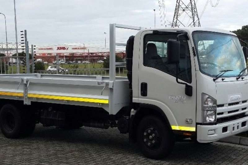 Isuzu Dropside trucks NEW NPR 400 Manual with drop side and tow bar 2020