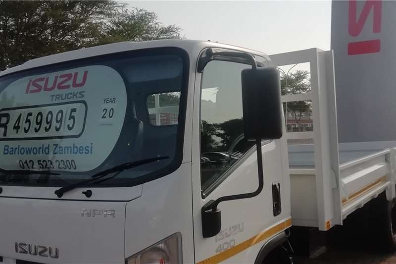 Isuzu Dropside trucks NPR 400 Drop side 2020
