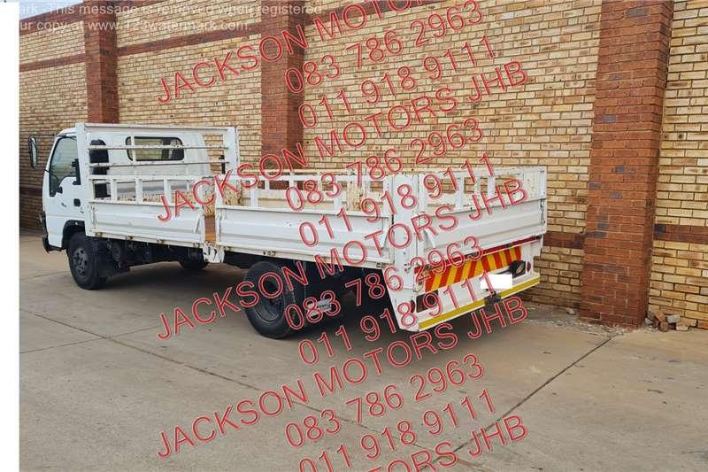 Isuzu NPR400 FITTED WITH DROPSDIE BODY Dropside trucks