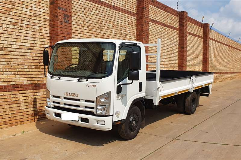 Isuzu Dropside trucks NQR500, 5 TON FITTED WITH DROPSIDE BODY 2015