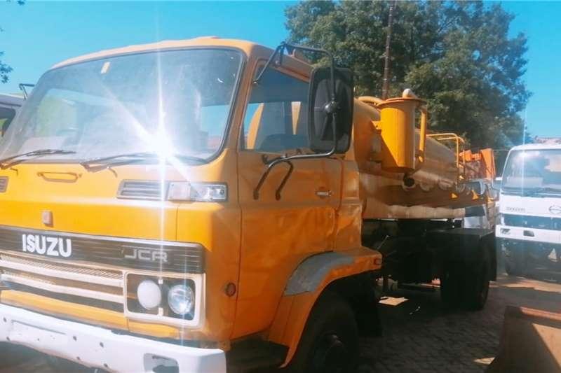 Isuzu Honey sucker trucks JCR500 Honey Sucker