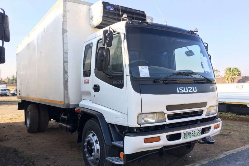 Isuzu Refrigerated trucks FTR800 Fridge Xarios 500 2007