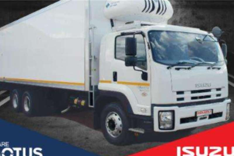 Isuzu Refrigerated trucks Isuzu FVZ 1400 Auto Fridge truck Demo 2020