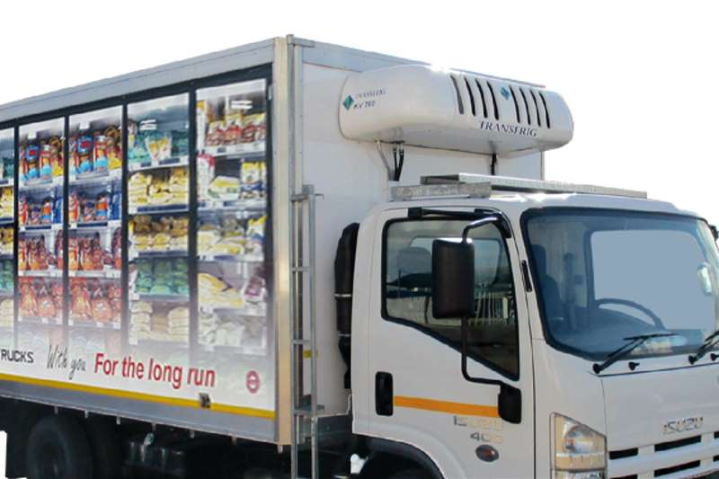 Isuzu Refrigerated trucks Isuzu NPR 400 AMT Fridge Truck 2020