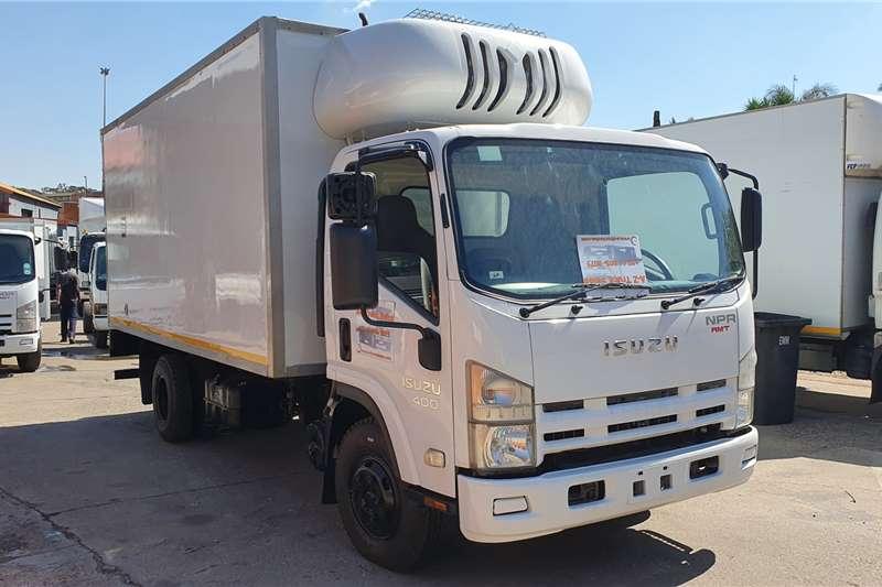 Isuzu NPR400 AMT Refrigerated trucks