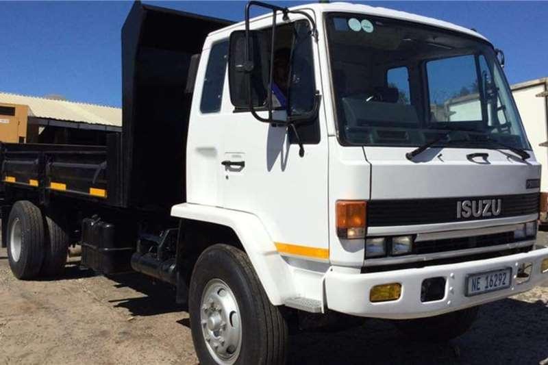 Isuzu F9000 D Turbo Dropside Tipper Tipper trucks