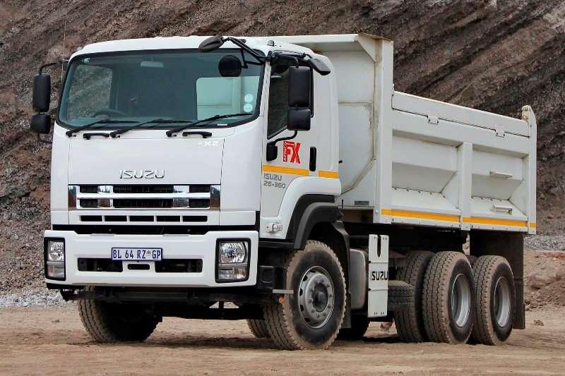 Isuzu FXZ 26 360 Tipper Tipper trucks