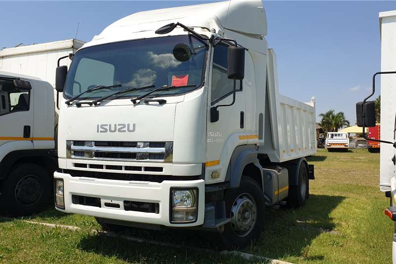 Isuzu Tipper trucks GVR2300 8 Cube Tipper 2011