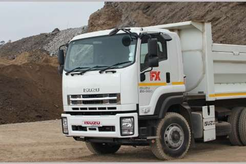 Isuzu Tipper trucks NEW FXZ Tipper 2020