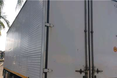 Isuzu 2011 ISUZU FVZ1400 RIGID WITH PANTECH BODY Truck