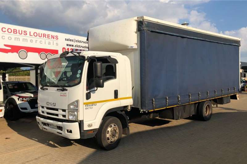 Isuzu Truck 2012 Isuzu FSR800 7 ton Tautliner 2012