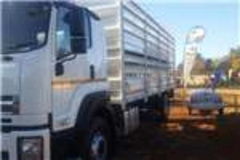 Isuzu Truck Cattle body FXR 17 360 Double Deck Cattle 2018