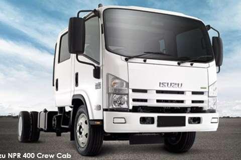 Isuzu Truck Chassis cab NEW NPR 400 Crew Cab AMT 2019
