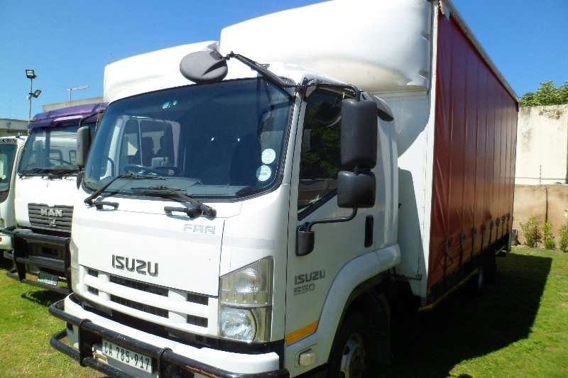 Isuzu Truck Closed body FRR 550 5.5 ton Tautliner 2011