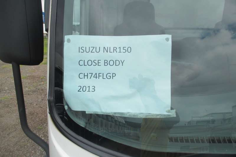 Isuzu Truck Closed body ISUZU NLR 150 Closed Body 2013