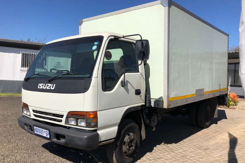 Isuzu Truck Closed body NPR400 Closed Van Body 1998