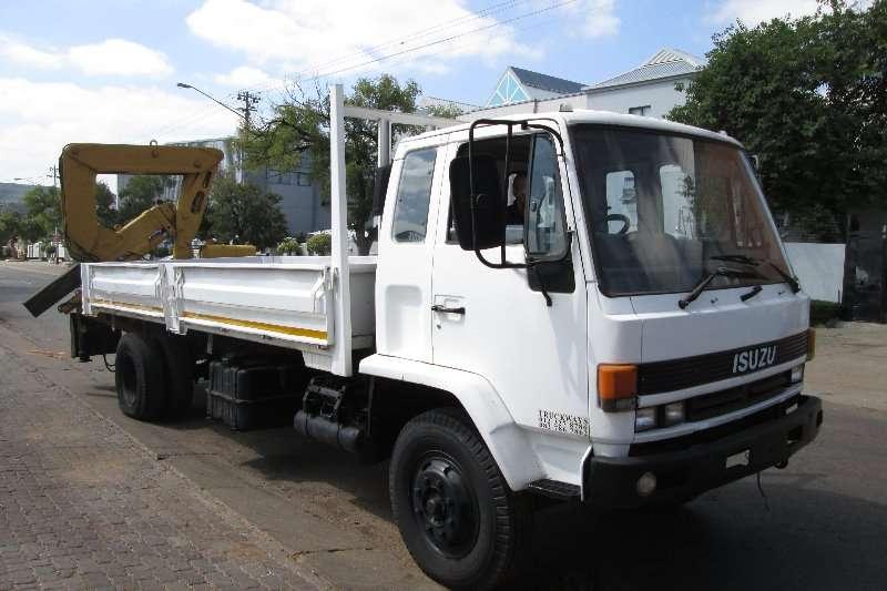 Isuzu Truck Crane Truck F8000 1989